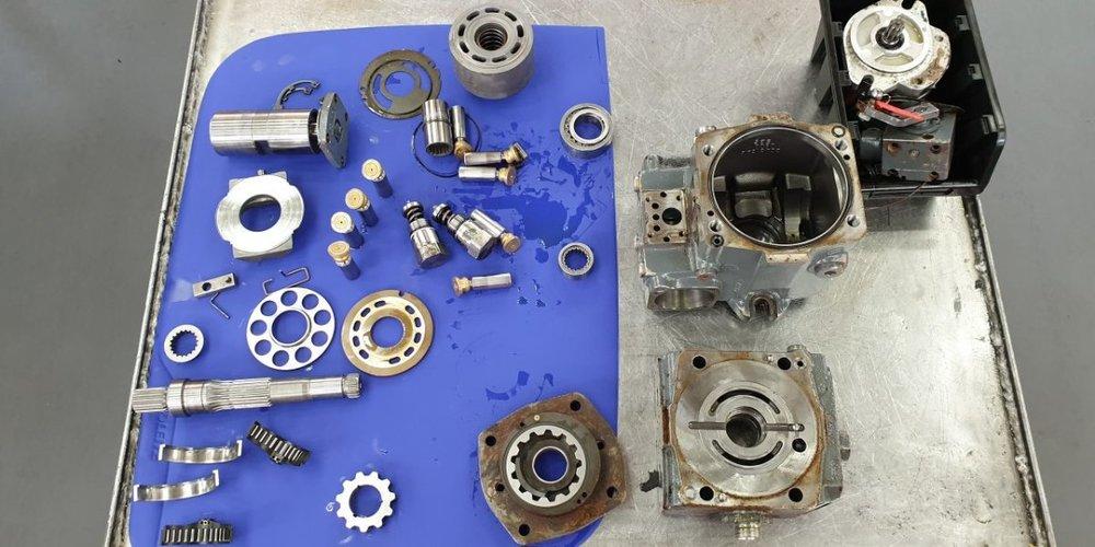 Naprawa i regeneracja elementów hydrauliki siłowej